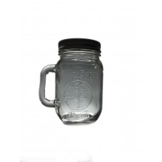 Aussie mason HEAT PROOF  Beer Mugs x 12 With lids - great for coffee's and even making sauses as gifts