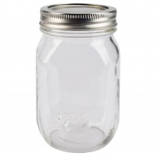 Ball Regular Mouth SMOOTH SIDED Pint Jars & Lids  x 12   - NEW!!!