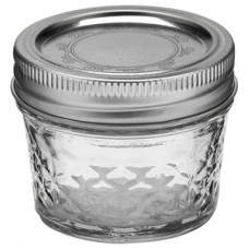 Ball Quilted 4oz Jars & Lids x 6 - Regular  mail