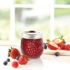 Ball Elite Regular mouth Mouth Half Pint 8oz Jam Jars x  4