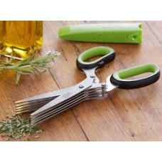 Ball Mason Fresh Herb Scissors Stainless Steel 5 blades