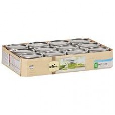 Kerr Wide Mouth Half Pint jars & Lids x 12 - Flat post