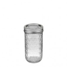SOLD OUT - Ball Quilted 12oz Jars & Lids x 6