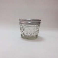 Aussie Mason Quilted 120ml Jars & Lids x 6 - Shipping included