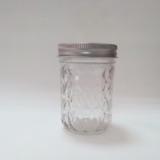 SOLD OUT - Aussie Mason Quilted 240ml Jars & Lids x 12