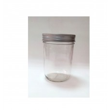 Aussie Mason Plain 240ml Jars & Lids x 12