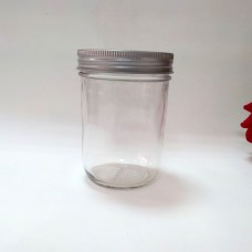 Aussie Mason PLAIN 86mm (WIDE) Mouth 500ml Jars & Lids x 12