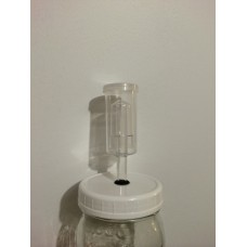 Air Lock Kit with rubber grommet for Fermenting and Lid made - WM sold out