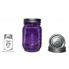 Aussie Mason Color Logo 68mm Mouth (Regular) 500ml Jars & Lids  x 12 - IN STOCK