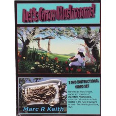 Lets Grow Mushrooms twin DVD Set - Free Shipping - SOLD OUT
