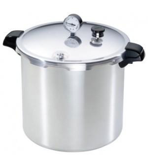 Presto 23Q Pressure Cooker With 12 x RM Jars,4pce Tool Set,  3pce Reg  - SOLD OUT MORE SOON